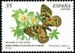 Sellos de Europa - Espa�a -  Fauna Espa�ola en Peligro - mariposa