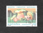 Stamps : Europe : Spain :  Edf 3279 - Micología