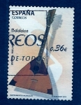 Stamps Spain -  Instrumento musical
