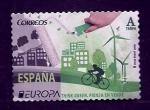 Sellos del Mundo : Europa : España :  Piensa en verde