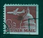 Stamps United States -  Capitolio