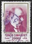Sellos del Mundo : Asia : Turquía : Kemal Ataturk (1881-1938)
