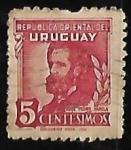 Sellos del Mundo : America : Uruguay : José Pedro Varela