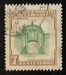 Stamps Uruguay -  Ciudadela de Montevideo