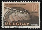 Sellos del Mundo : America : Uruguay : Usina hidroelectrica baygorria