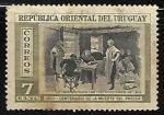 Sellos del Mundo : America : Uruguay : Centenario de la muerte del procer