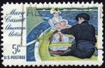 Stamps United States -  COL-MARY CASSATT-AMERICAN ARTIST