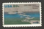 Stamps : America : United_States :  1536 - 25 Anivº de la ruta marítima San Lorenzo