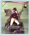 Sellos de America - México -  Umbral del Bicentenario de la  Independencia de Mexico
