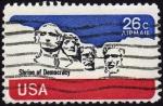 Stamps United States -  COL-SHRINE OF DEMOCRACY