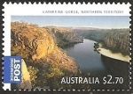Stamps of the world : Australia :  Katherine Gorge, Northern Territory