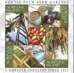 Stamps : Oceania : Australia :  Palm Seed Industry of Norfolk Island (Norfolk)