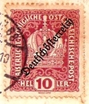 Stamps : Europe : Austria :  Emperors crown