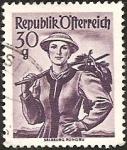 Stamps : Europe : Austria :  Salzburg, Pongau