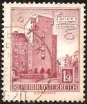 "Stamps : Europe : Austria :  Housing ""Rabenhof"", Vienna-Erdberg"