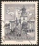 Stamps : Europe : Austria :  Residence Fountain, Salzburg