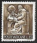 Sellos del Mundo : Europa : Vaticano : Ciencia