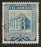 Sellos del Mundo : America : Venezuela : Oficina de correos en Caracas