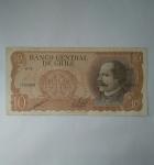 monedas de America - Chile -  Diez escudos