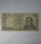 monedas del Mundo : America : Chile :  1975 - 5 pesos