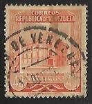 Sellos de America - Venezuela -  Oficina principal de correos de Caracas