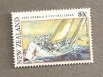 Stamps New Zealand -  Copa América de Vela
