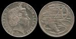 monedas de Oceania - Australia -  Australia: 20 Cents 2002 km403