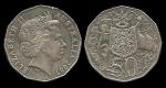 monedas de Oceania - Australia -  Australia: 50 Cents 2007 km404