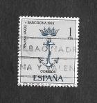 Stamps : Europe : Spain :  Edf 1737 - Semana Naval en Barcelona