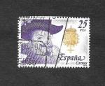 Stamps Spain -  Reyes de España. Casa de Austria