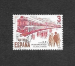 Stamps of the world : Spain :  Utilice Transportes Colectivos