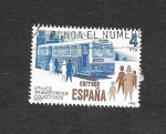 Sellos del Mundo : Europa : España : Utilice Transportes Colectivos