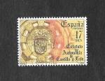 Sellos de Europa - España -  Estatuto de Autonomía de Castilla y León