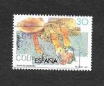 Stamps : Europe : Spain :  Edf 3342 - Micología
