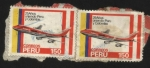 Stamps : America : Peru :  Uniendo Perú y Colombia