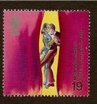 Sellos de Europa - Reino Unido -  Millenium - el mundo del teatro