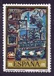 Stamps Spain -  los pichones (Picasso)