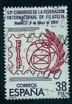 Stamps Spain -  53 Congreso Federacion Internacional de la Filatelia