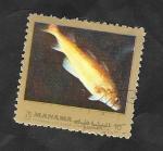 Stamps of the world : United Arab Emirates :  Manama - Fauna marina