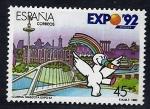 Sellos del Mundo : Europa : España :  Exposicion universal Sevilla 92