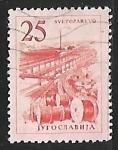 Stamps Yugoslavia -  Cables de fabrica