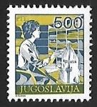 Sellos de Europa - Yugoslavia -  Oficina de correos