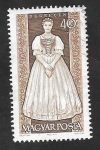 Stamps Hungary -  1581 - Traje típico de Debreczen