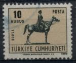 Sellos de Asia - Turquía -  TURQUIA_SCOTT 1791A $0.2