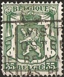 Stamps of the world : Belgium :  Small coat of arms