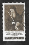Sellos de Europa - Vaticano -  432 - San Benito, patrón de Europa