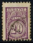 Stamps : Asia : Turkey :  TURQUIA_SCOTT O57 $0.2