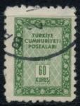 Sellos de Asia - Turquía -  TURQUIA_SCOTT O70.01 $.2
