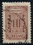 Sellos de Asia - Turquía -  TURQUIA_SCOTT O78 $0.2