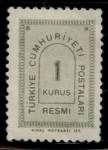 Stamps of the world : Turkey :  TURQUIA_SCOTT O84.02 $0.2